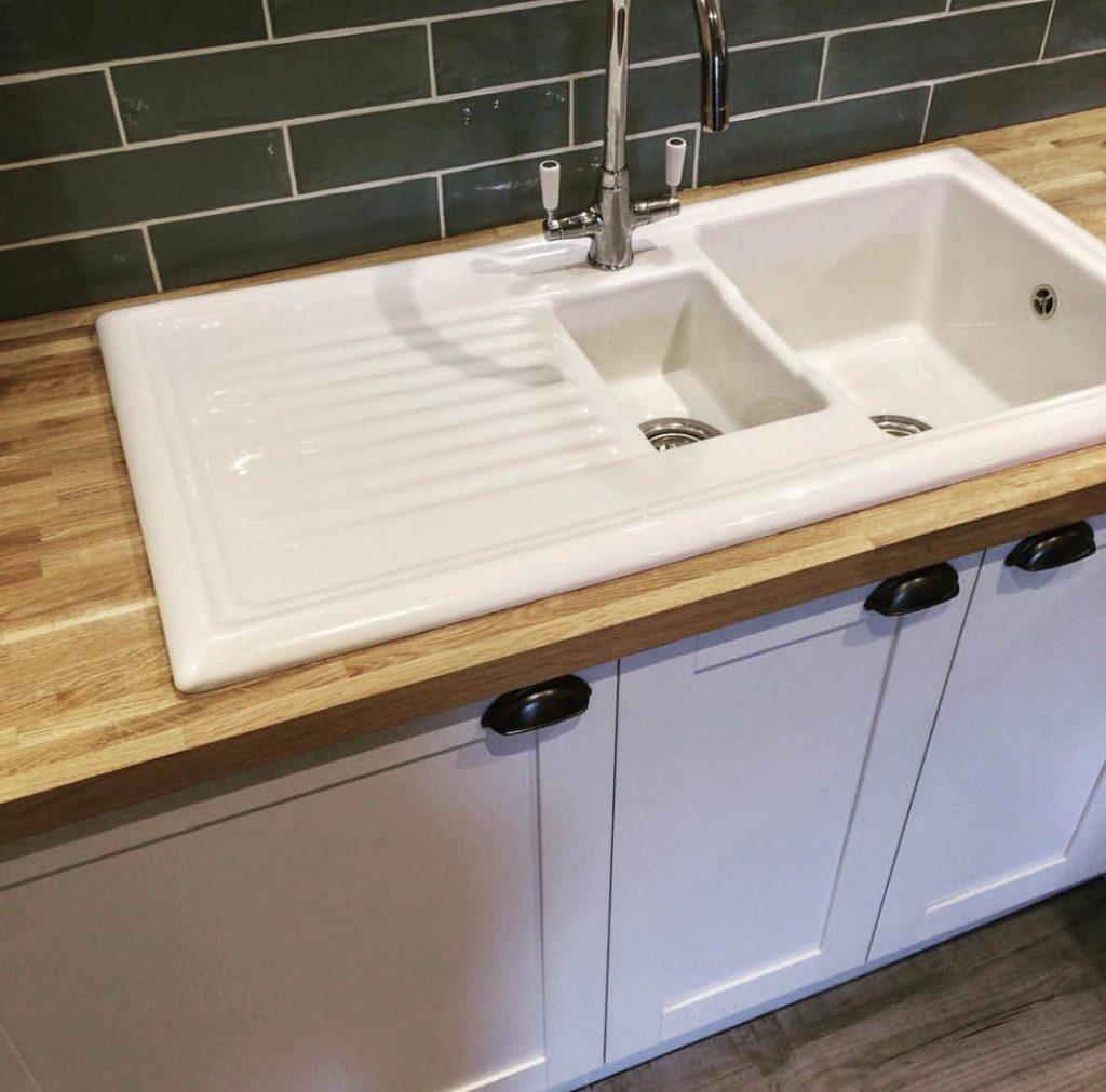 Property Improve Kitchen Designers ceramic sink