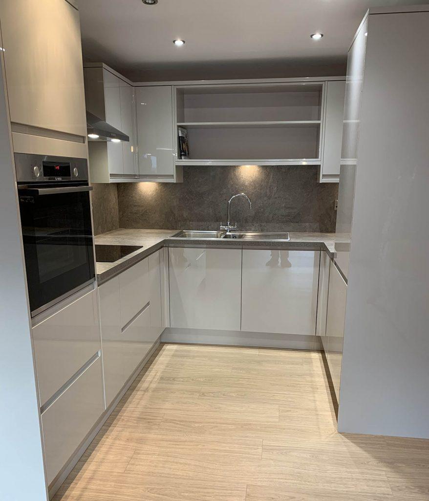 Property Improve Kitchen Designers new, modern kitchen complete