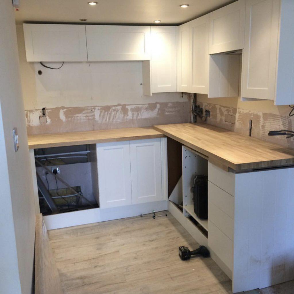 Property Improve Kitchen Designers new kitchen in progress