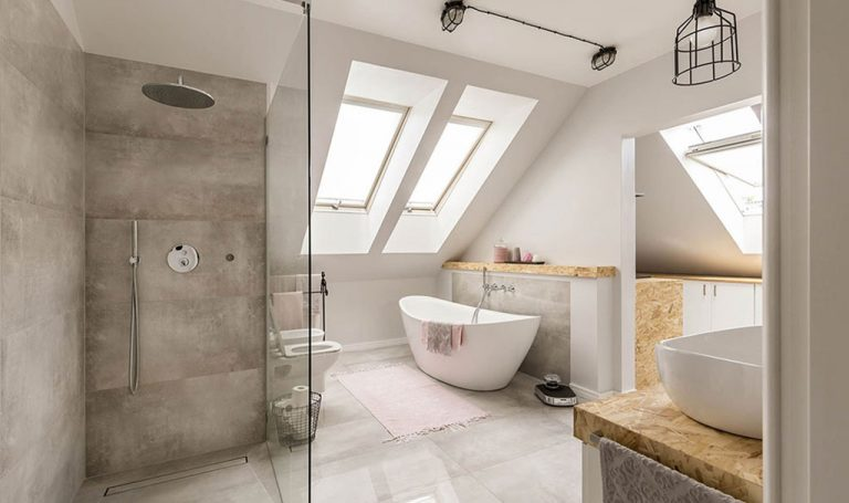 Property Improve Bathroom Designers Edinburgh Shower and Bath Area