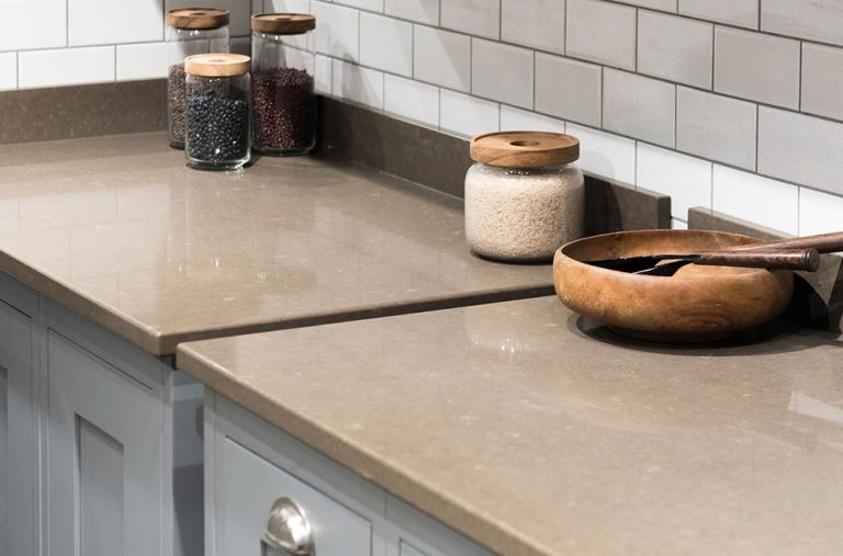 Traditional kitchen worktops